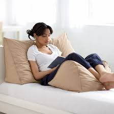 need this for my bed reading wedge pillow firm feather down