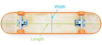 Deck Sizes Chart Kids Skateboard Size