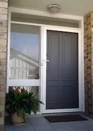 front door screensSecureView Hinged Security Screen Door Stainless Steel Mesh Front