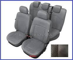 alcantara tailored full set seat covers for ford focus mk3 2010 2016