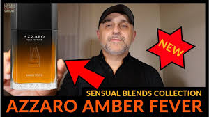 NEW: Azzaro Pour Homme <b>AMBER FEVER</b> Fragrance Review | Is It ...