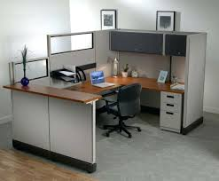 Beauteous Idea Of Small Office Designs With Brown Wooden Table Small Office Desk Design Ideas