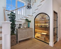 wine room ideas. Adorable Wine Cellar Under Stairs Design Houzz Ideas Remodel Pictures Room