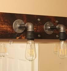 industrial bathroom lighting. DIY Industrial Bathroom Light Fixtures Lighting