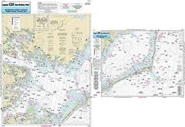 Nearshore Pamlico Sound Nc Laminated Nautical Navigation Fishing Chart By Captain Segulls Nautical Sportfishing Charts Chart Ps25