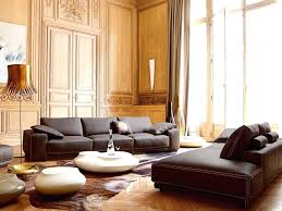cream cowhide rug for interior sectional sofa dark brown furniture set copper floor lamp white cream and gold cowhide rug