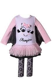 Bonnie Jean Glampire Halloween Tunic And Skirt Set