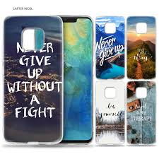 Case For Huawei Mate 10 20 Pro P10 P20 P30 Honor 10 8x 8c 8a Lite P Smart Y6 Y7 2018 2019 V20 Quotes Aesthetic Tumblr