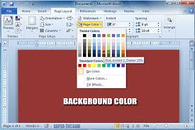 Small Picture How To Change The Background Color In Pages Coloring Pages Ideas
