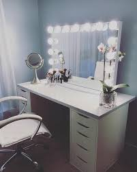 this impressionsvanityglowxlpro from asyamarti is the perfect combination of simplicity and elegance featured makeup desk ikeaalex drawer