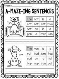 This is one of the most comprehensive collections of phonics worksheets available online. A Maze Ing Sentences Bundle Year Set Of Sentence Building Phonics Worksheets