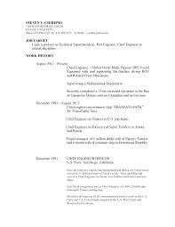 Merchant Navy Officer Resume Sample Megakravmaga Com