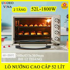 Lò nướng, bếp nướng cao cấp UKOEO 52L