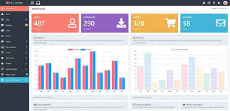 Bootstrap 4 Chart Example Pike Bootstrap 4 Kit Admin Template Php Cms