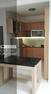 kitchen set dengan minibar di citra grand cibubur