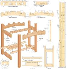 woodworking project plans for beginners. 4 free wine rack plans for you to try woodworking project beginners g