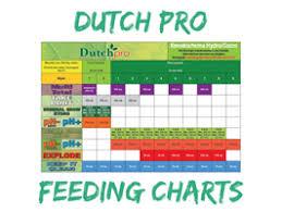 Dutch Pro Feeding Charts Rutland Horticulturerutland