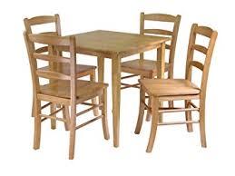 dining set wood. winsome groveland 5-piece wood dining set, light oak finish set o