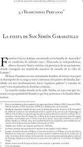 tradiciones peruanas pdf descargar libre