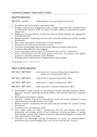 Auditor Resume Extraordinary Audit Associate Resume Accountant Kpmg Audit Associate Resume