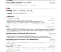 Latex Resume Template Phd Best of Fascinating Resume Format In Latex Curriculum Vitae Example Template