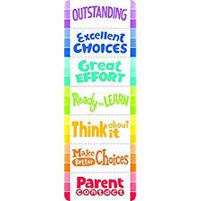 Behavior Clip Chart Creative Teaching Press Painted Palette Desktop Behavior Clip Chart Bookmark 0948