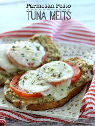these parmesan pesto tuna melts are so delicious it s an amazing twist on your typical