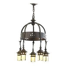 lot 408 gustav stickley estimate 17 500 22 500 fine chandelier eastwood