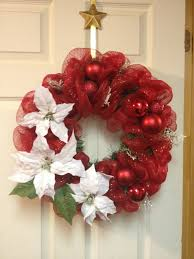 Christmas Wreath - Made with Sinamay Ribbon by ktkat42 ...