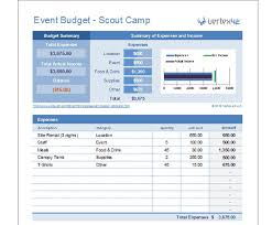 Event Budget Sample 15 Expense Tracker Templates Free Word Excel Pdf
