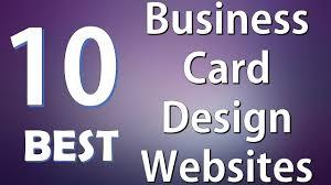 top best business card design websites top 10 best business card design websites
