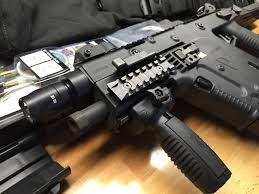 Kriss Vector Surefire Light Kit Wts Kriss Vector 45acp Sbr