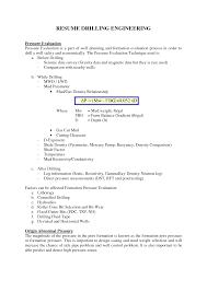 Driller Resume Example Fantastic Oilfield Driller Resume Samples Gallery Entry Level 2