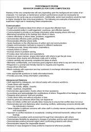 Employee Comments On Performance Evaluation Employee Comment On Performance Appraisal Example
