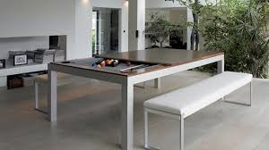 modern pool table dining table. Plain Table There Are Few Things That Scream Bachelor Pad More Than A Pool Table And  Even The Skeeviest Single Guy Knows You Gotta Eventually Class It Up For Modern Pool Table Dining B