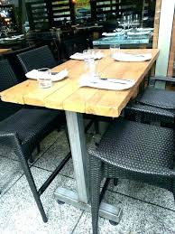patio solid wood patio furniture reclaimed restaurant tables and chairs wooden garden fur