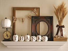 12 Ways to Decorate a Thanksgiving Mantel You\u0027ll Be Thankful For