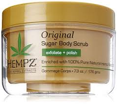 <b>Hempz Original Herbal Sugar</b> Body Scrub, 7.3 Fluid Ounce