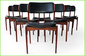 wood dining chair lovely erik buck 49 o d m bler rosewood dining chairs 8 danish modern