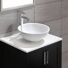 ceramic ceramic circular vessel bathroom sink