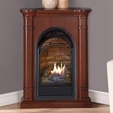 dual fuel fireplace