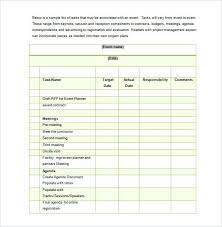 Event Checklist Template Free Word Excel Documents Meeting Timeline ...