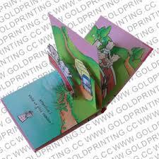 children s pop up books printing