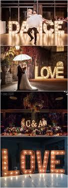 Large Letter Lights Wedding Large Letter Lights Personalized Wedding Sign Lights Decor