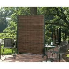 diy outdoor privacy screen portable outdoor privacy screen outdoor single portable wicker partition for patio privacy
