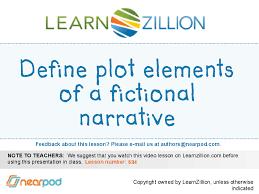 Plot Elements Define Plot Elements Of A Fictional Narrative