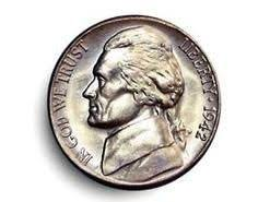 Silver Jefferson Nickel Value Chart Coins Old Silver