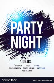 Club Disco Party Night Flyer Template