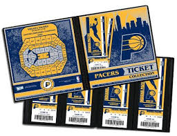 Nba Indiana Pacers Ticket Album One Size More Info Could