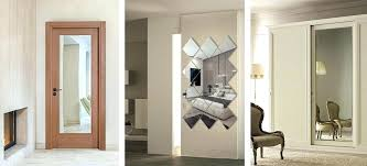 mirrored closet doors makeover closet door makeover acrylic mirror closet door guide mirrors for closets and